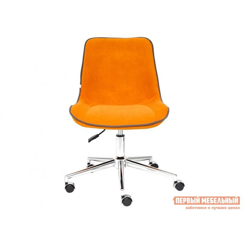 Офисное кресло  Кресло STYLE Флок / Оранжевый / 18 (фото 2)
