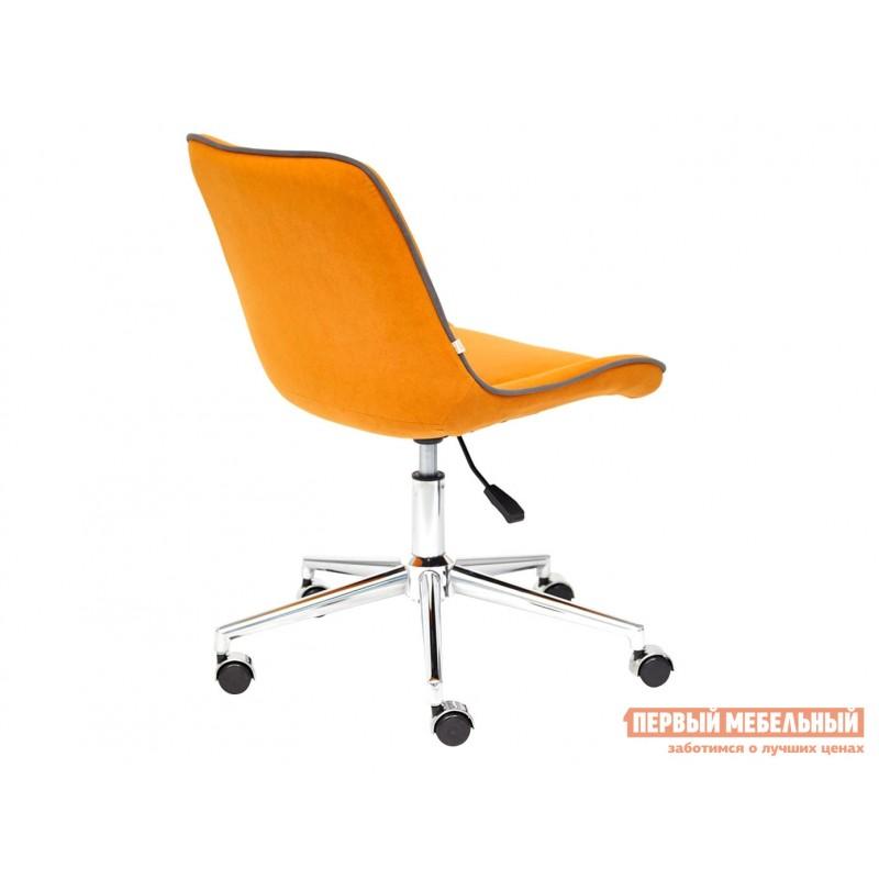 Офисное кресло  Кресло STYLE Флок / Оранжевый / 18 (фото 3)