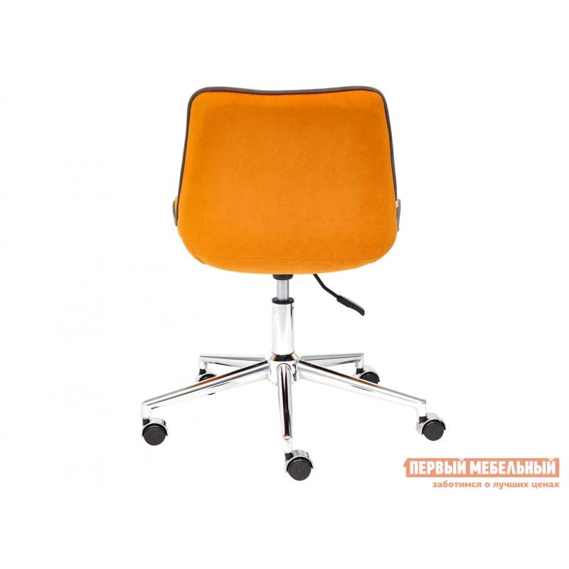 Офисное кресло  Кресло STYLE Флок / Оранжевый / 18 (фото 4)