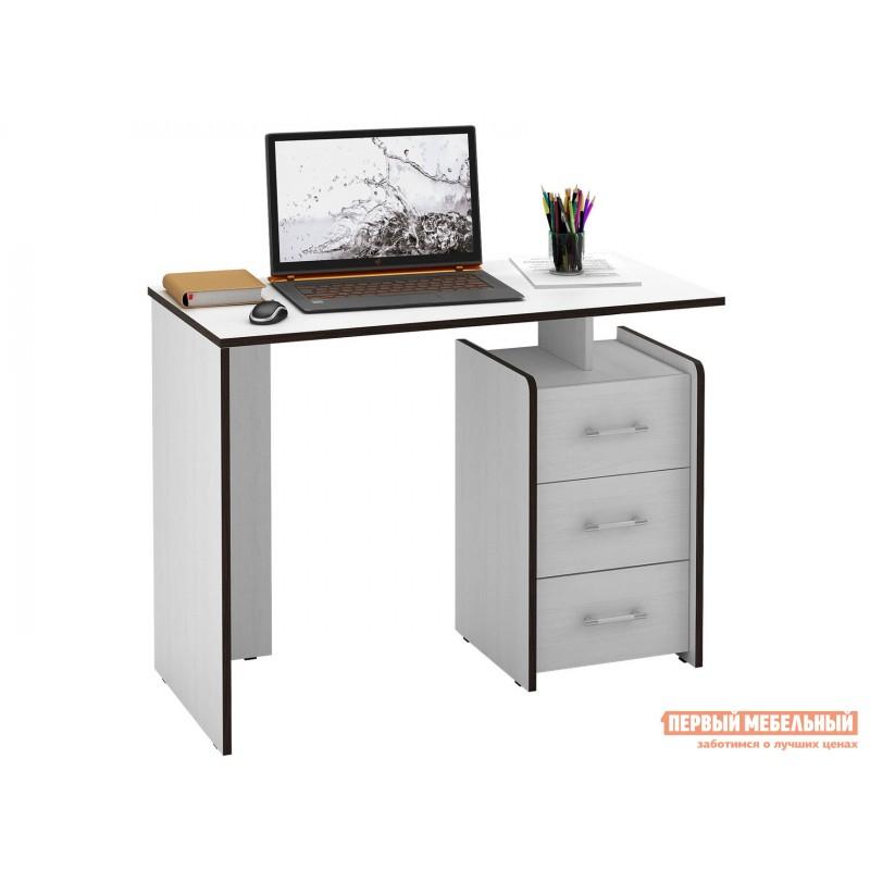 Письменный стол  Слим Белый, 1030 мм