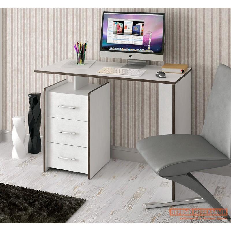 Письменный стол  Слим Белый, 1030 мм (фото 2)
