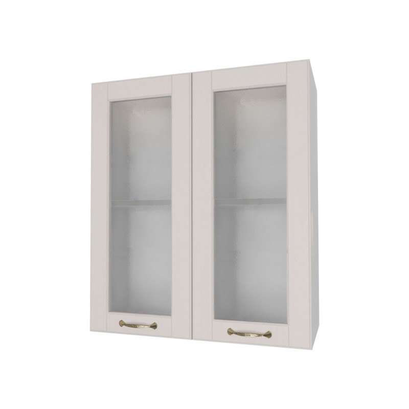 Кухонный модуль  Шкаф 2 двери со стеклом 60 см Палермо Мускат