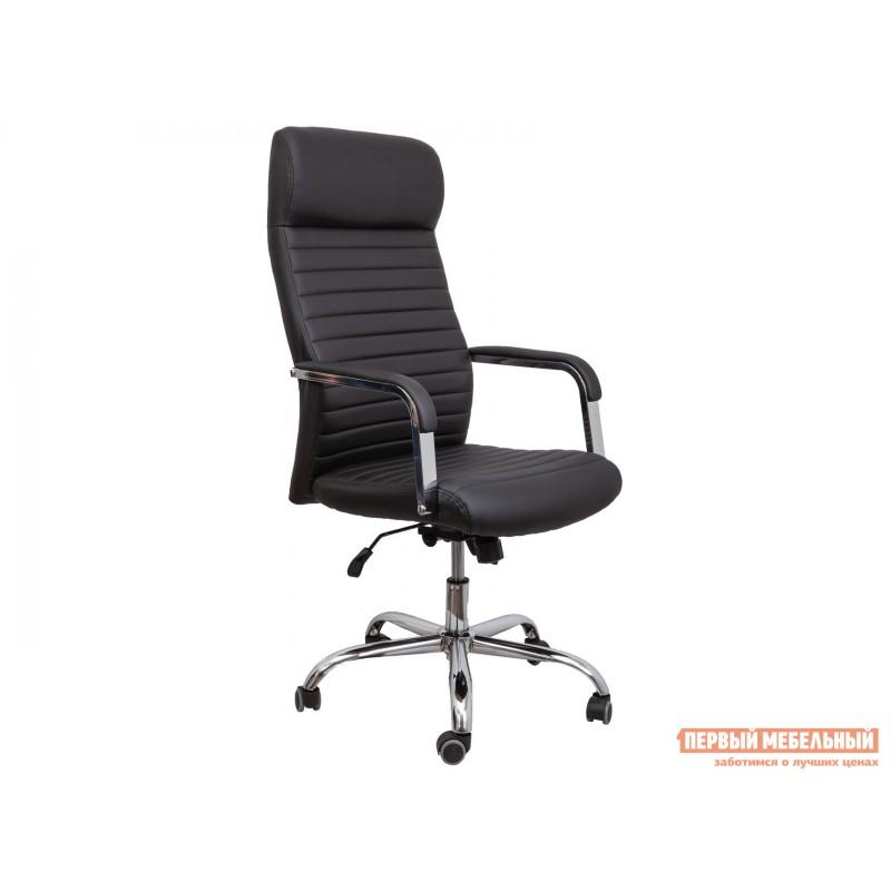 Кресло руководителя  Кресло поворотное PILOT A Черный, экокожа