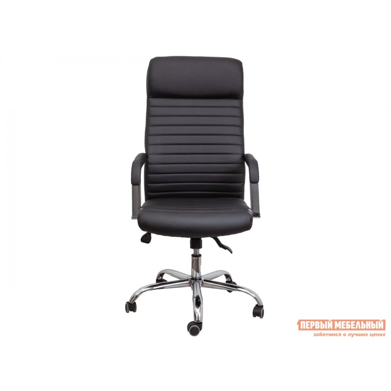 Кресло руководителя  Кресло поворотное PILOT A Черный, экокожа (фото 2)
