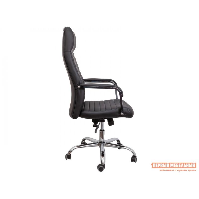 Кресло руководителя  Кресло поворотное PILOT A Черный, экокожа (фото 3)
