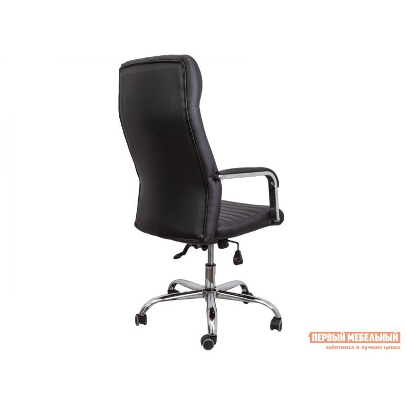 Кресло руководителя  Кресло поворотное PILOT A Черный, экокожа (фото 4)