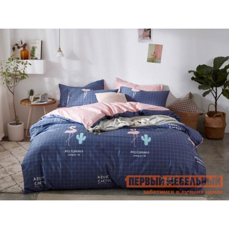 Комплект постельного белья  Флеминг Флеминг, сатин, Полутороспальный