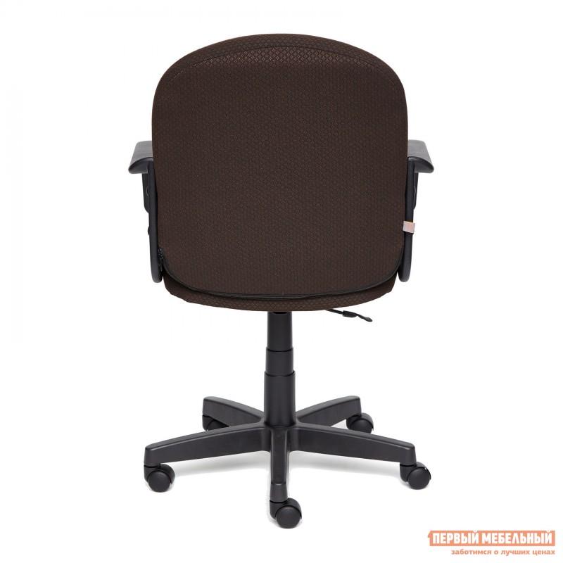 Офисное кресло  BAGGI Ткань коричневая / бежевая (фото 4)