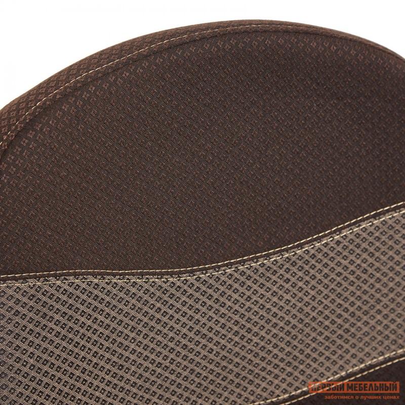 Офисное кресло  BAGGI Ткань коричневая / бежевая (фото 6)