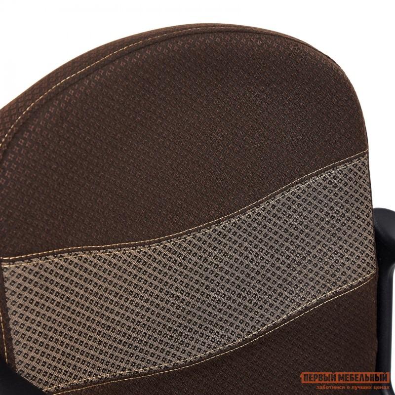 Офисное кресло  BAGGI Ткань коричневая / бежевая (фото 9)