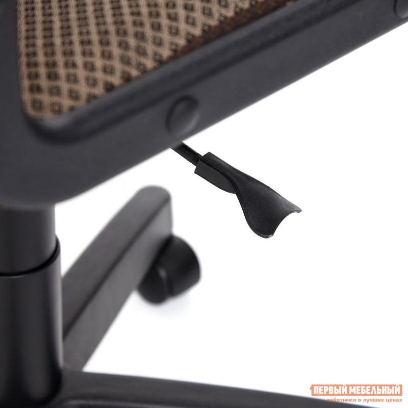 Офисное кресло  BAGGI Ткань коричневая / бежевая (фото 10)