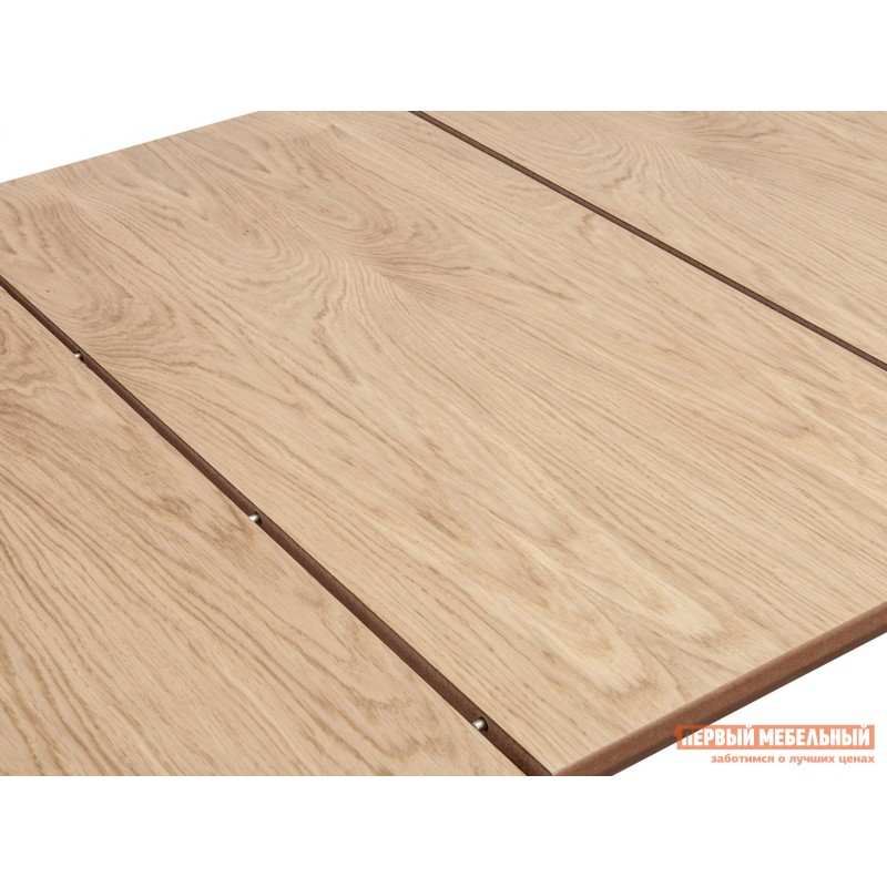 Кухонный стол  Стол WENUS 2 S, 140(180)*80*76 Дуб натуральный / Белый (фото 4)