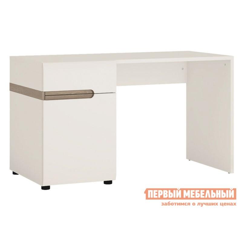 Письменный стол  Стол письменный /TYP 80, LINATE Белый / Сонома трюфель