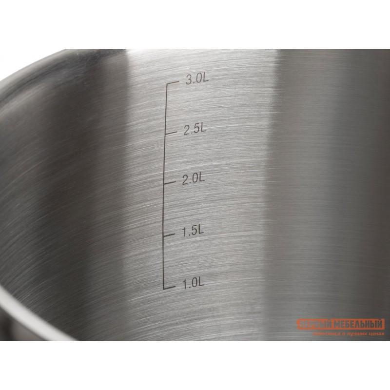 Кастрюля  Кастрюля с крышкой AUGUSTA SPECIALE 20х11.5см 3.2л Серебристый (фото 7)