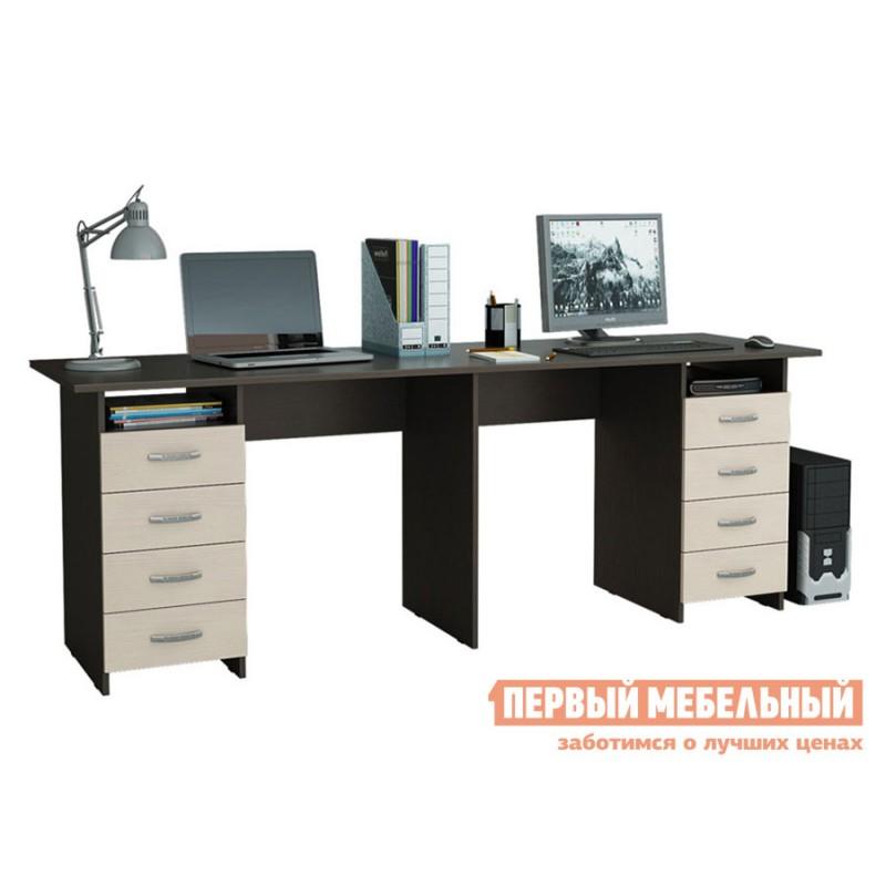 Компьютерный стол  Тандем-3 Венге / Дуб Молочный