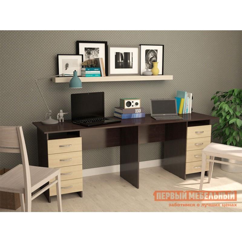 Компьютерный стол  Тандем-3 Венге / Дуб Молочный (фото 2)