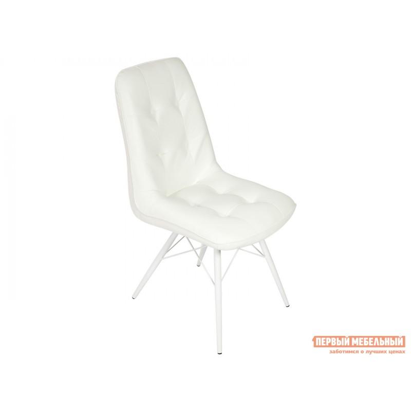 Обеденная группа для столовой и гостиной  Стол Шанхай + 4 стула Бордо Белый, Черный / Батлер 08; Белый (фото 4)