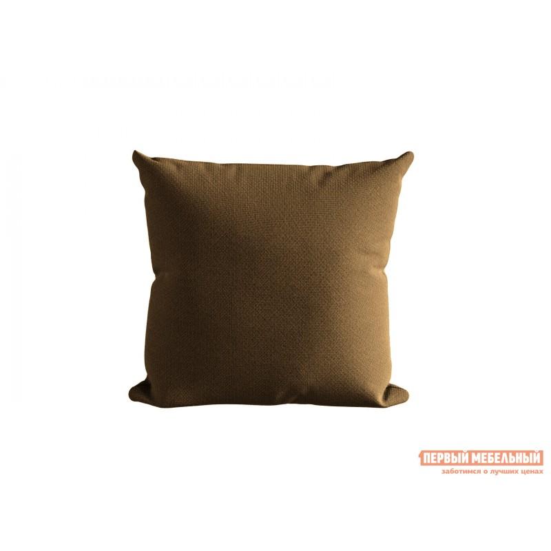Декоративная подушка  Подушка ШН(391-7), Размер 45х45 Коричневый, рогожка