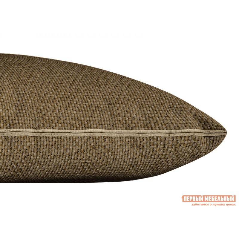 Декоративная подушка  Подушка ШН(391-7), Размер 45х45 Коричневый, рогожка (фото 2)