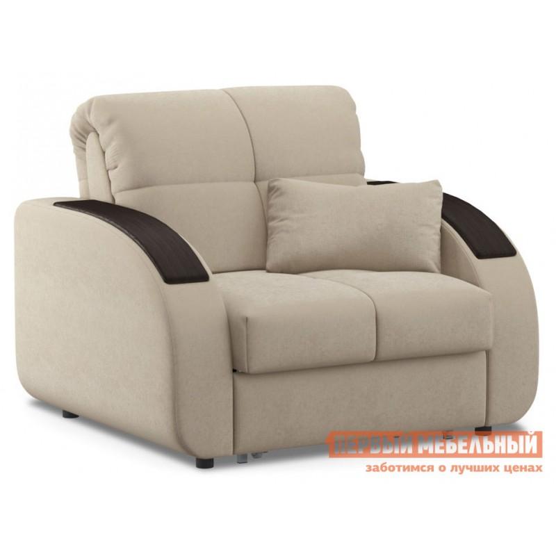 Кресло  Кресло-кровать Уильям / Кресло-кровать Уильям Люкс Бежевый, велюр , Независимый пружинный блок