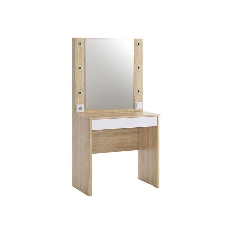 Туалетный столик  Туалетный столик Зара Дуб сонома / Белый (фото 2)