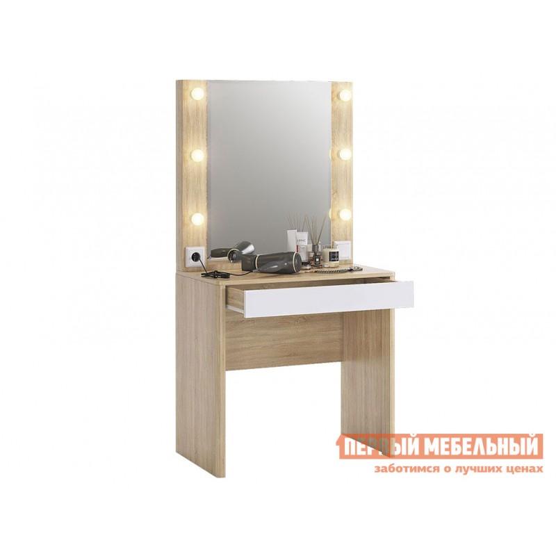 Туалетный столик  Туалетный столик Зара Дуб сонома / Белый (фото 3)