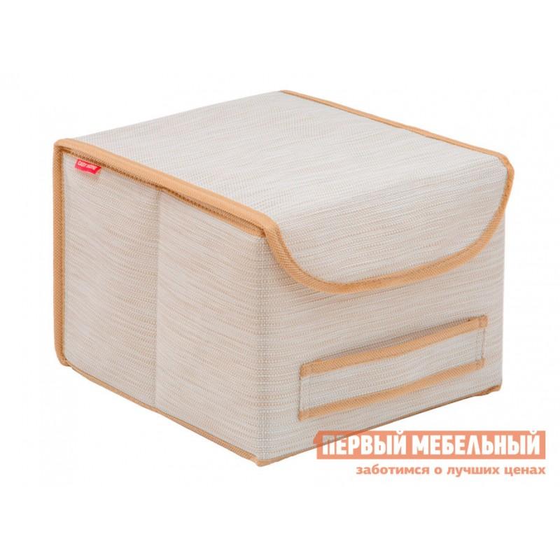 Кофр  Коробка для хранения с крышкой 25х27х20см Белый