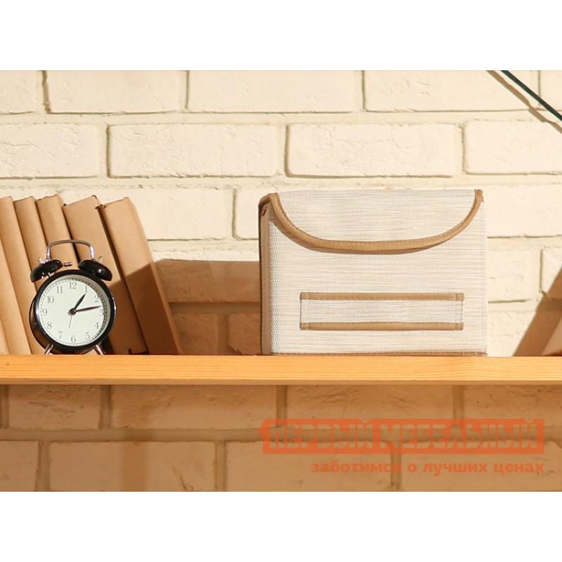 Кофр  Коробка для хранения с крышкой 25х27х20см Белый (фото 2)