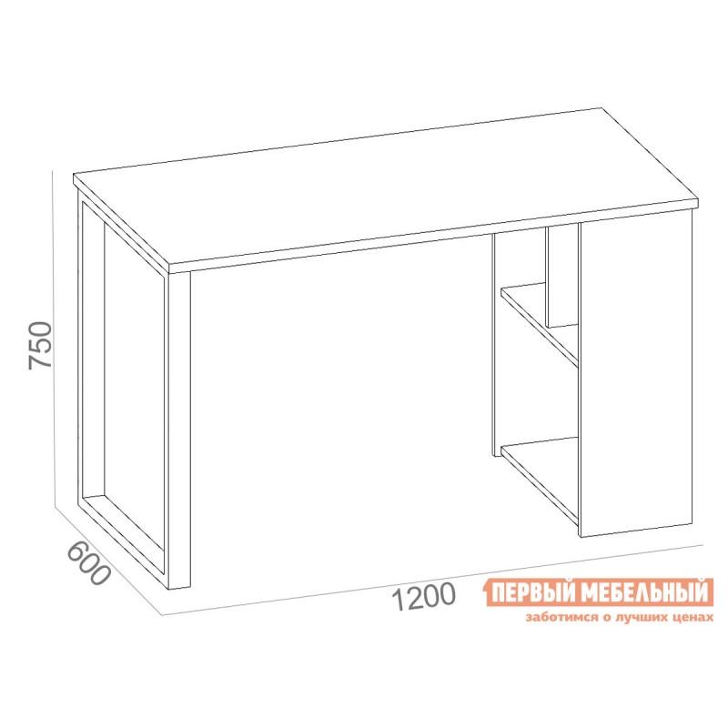 Письменный стол  СПм-201 Дуб Делано (фото 3)