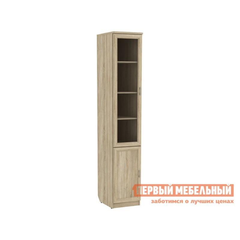 Шкаф-витрина  Мерлен 202 Дуб Сонома