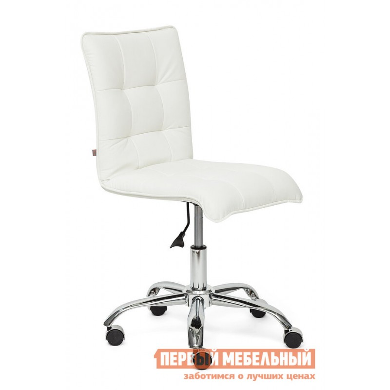 Офисное кресло  ZERO Кож/зам, белый, 36-01