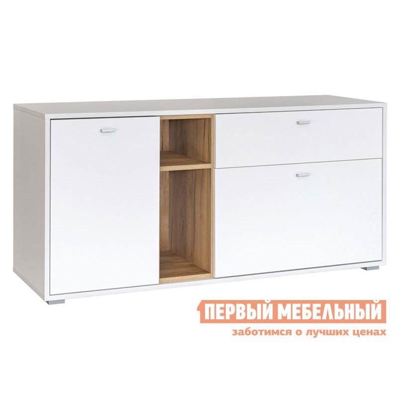 ТВ-тумба  ТВ-тумба Бэль Дуб золотой / Белый