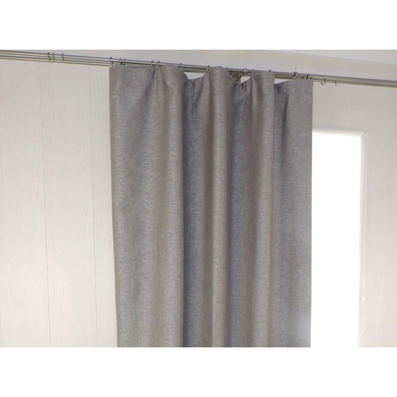 Шторы  Портьера ШП(95-11) серый Серый, блэкаут, 1500 х 2700 мм, 1 шт. (фото 2)