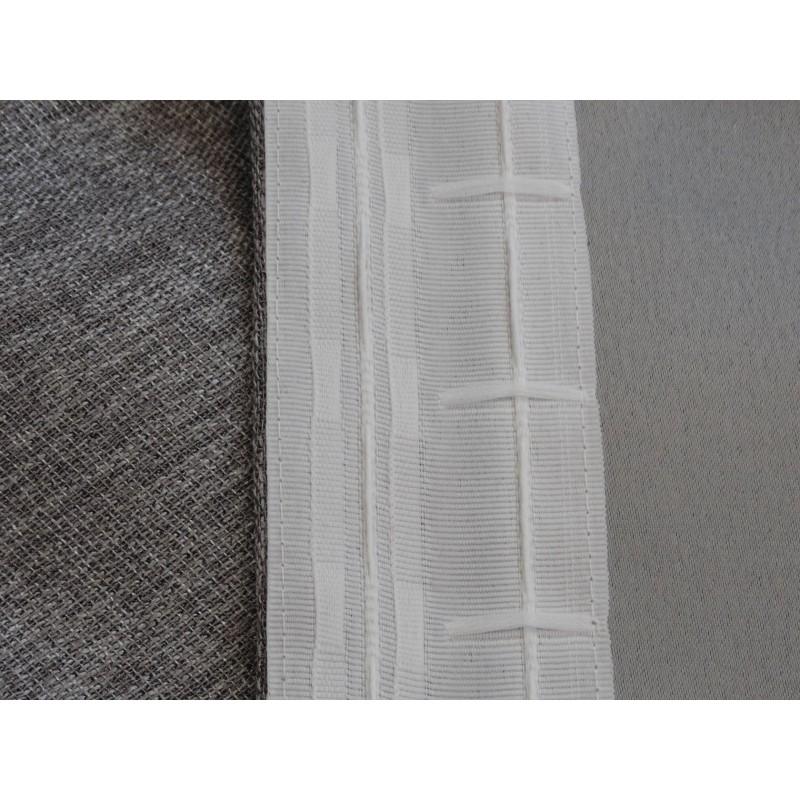 Шторы  Портьера ШП(95-11) серый Серый, блэкаут, 1500 х 2700 мм, 1 шт. (фото 3)