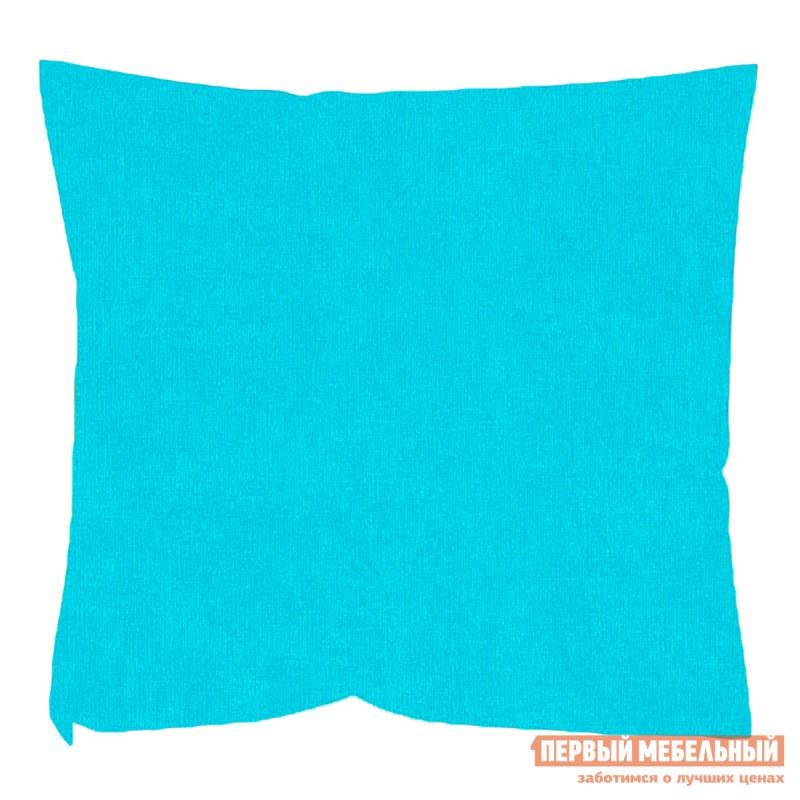 Декоративная подушка  Бирюзовый Микровельвет Бирюзовый микровельвет