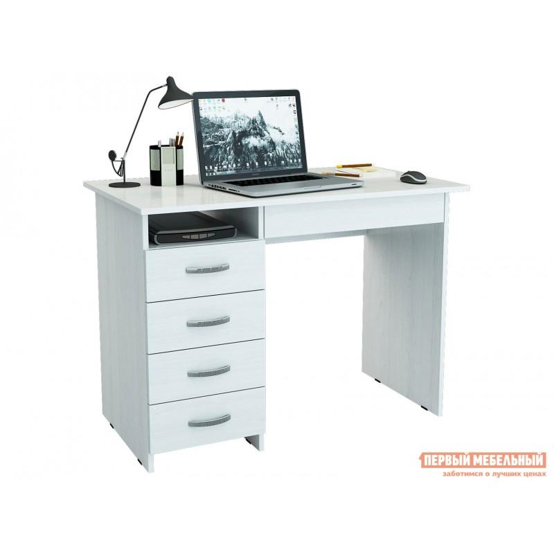 Письменный стол  Милан-1 Белый