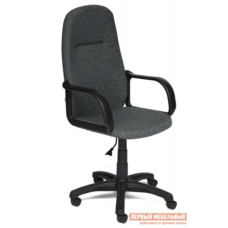 Кресло руководителя  Leader Ткань серая 207