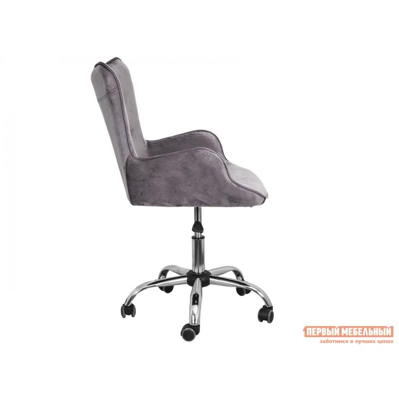 Офисное кресло  Офисное кресло BELLA Серый, велюр (фото 3)