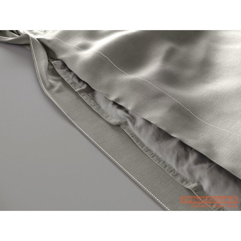 Пододеяльник  Пододеяльник сатин (серый ОСНОВА СНОВ) Серый, сатин, 1450 х 2150 (фото 2)
