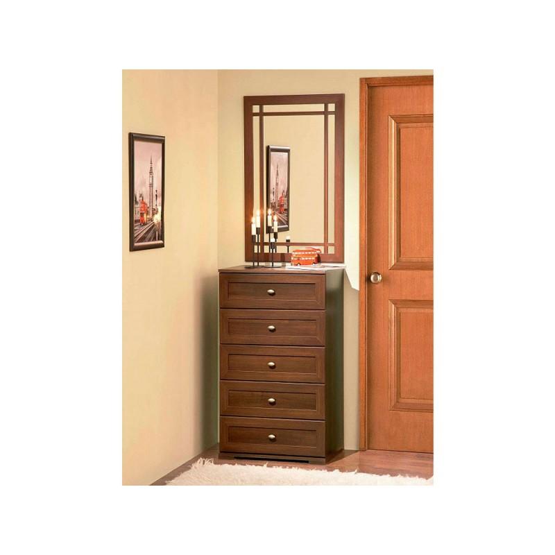 Настенное зеркало  Sherlock 7 (гостиная) Зеркало  навесное Орех Шоколадный (фото 2)