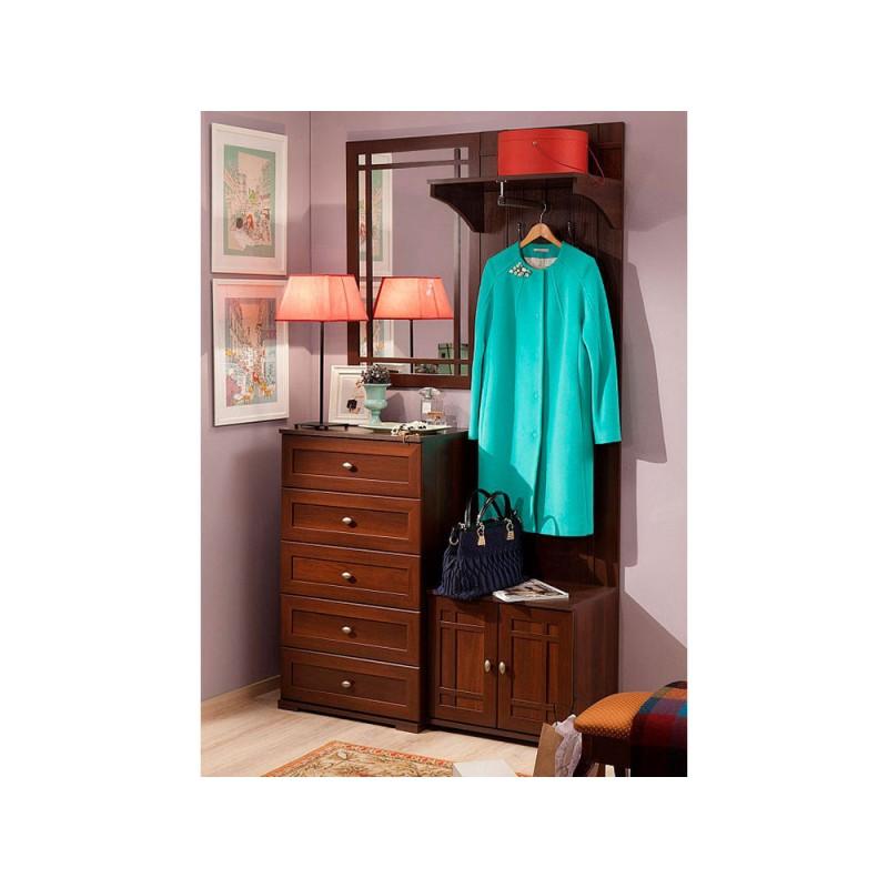 Настенное зеркало  Sherlock 7 (гостиная) Зеркало  навесное Орех Шоколадный (фото 3)