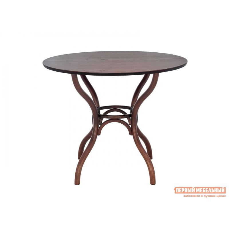 Кухонный стол  Стол Leset Тор круглый Темный орех (фото 2)