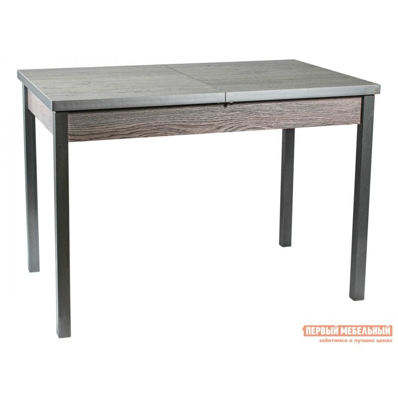 Кухонный стол  Стол ДП1-01-06 раздвижной М65 Денвер Навара / Металлик