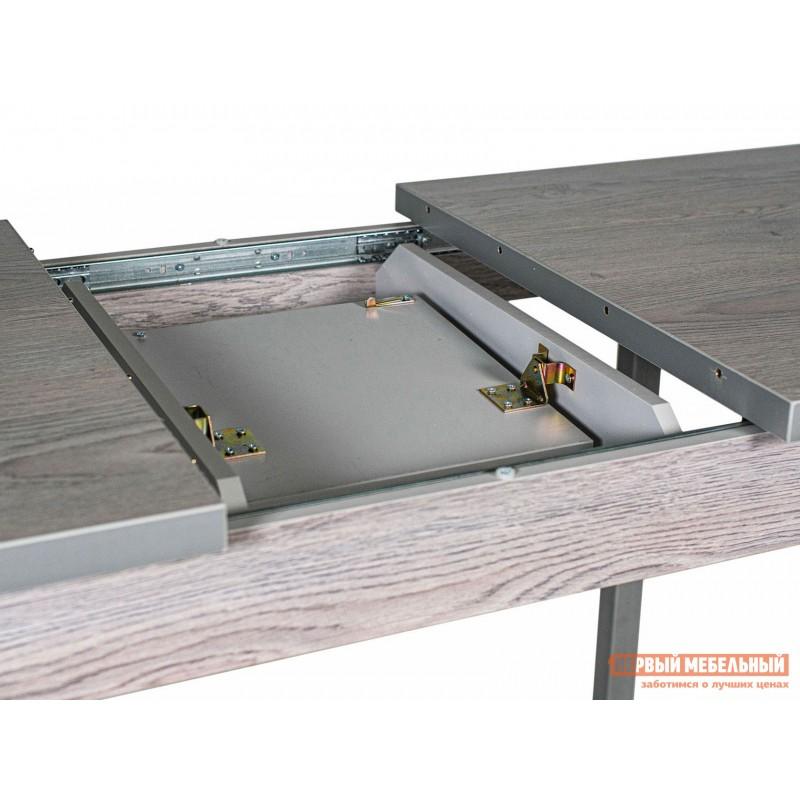 Кухонный стол  Стол ДП1-01-06 раздвижной М65 Денвер Навара / Металлик (фото 4)