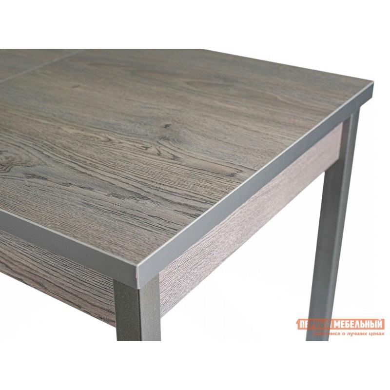 Кухонный стол  Стол ДП1-01-06 раздвижной М65 Денвер Навара / Металлик (фото 6)