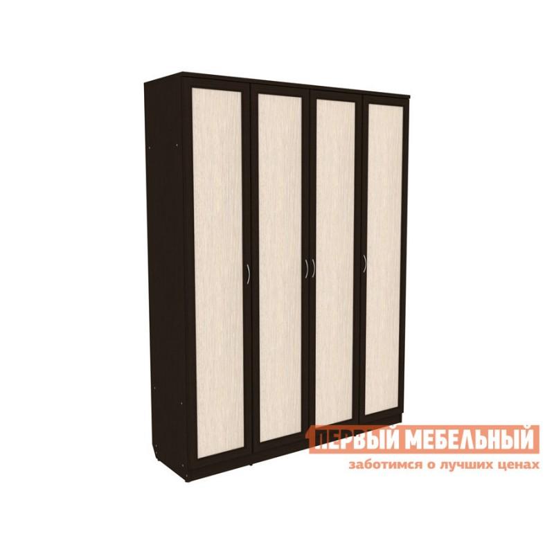 Шкаф распашной  Мерлен 109 Венге / Молочный дуб