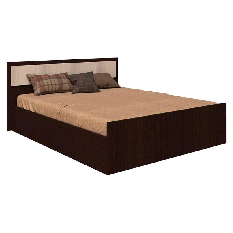 Двуспальная кровать  Кровать Фиеста Венге / Лоредо, 140х200 см