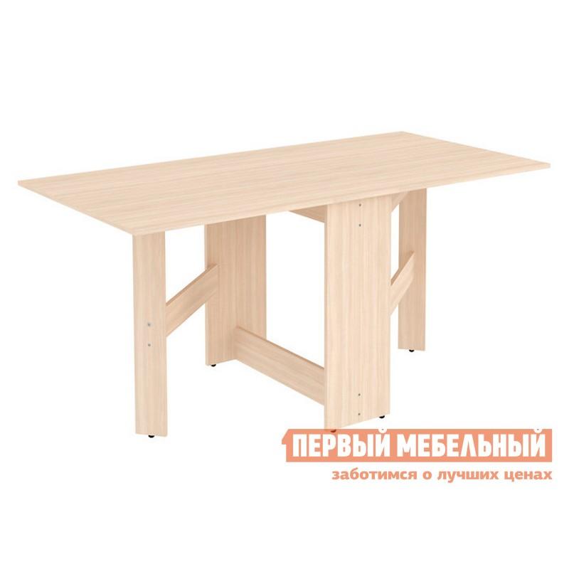Кухонный стол  Стол-книжка Мерлен С05 Молочный дуб