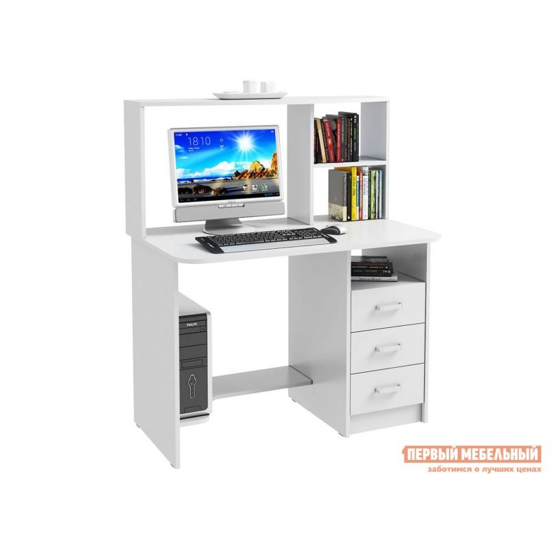 Компьютерный стол  Стол компьютерный Неман Белый