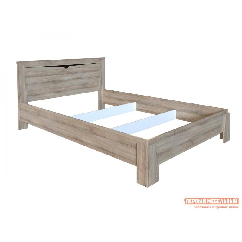 Двуспальная кровать  Кровать Гарда NEW Ясень Таормино, 140х200 см, С основанием, Без подъемного механизма (фото 3)